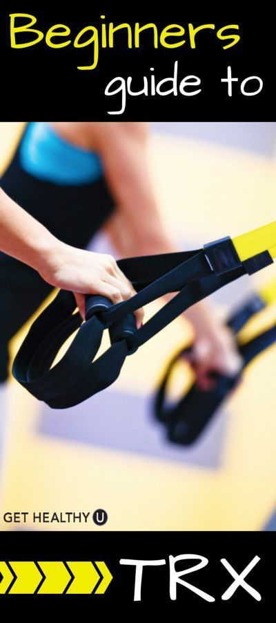 The Beginner's Guide To TRX - Get Healthy U