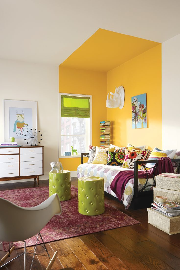 These Are the 12 Best Yellow Paint Colors For a Big Pop of ...