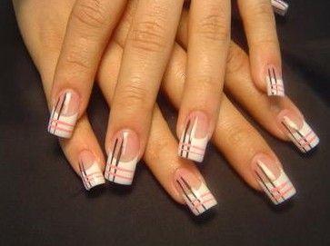 Diferencia Entre Uñas De Gel Y Uñas De Porcelana French Nails Japanese Nails French Nail Art
