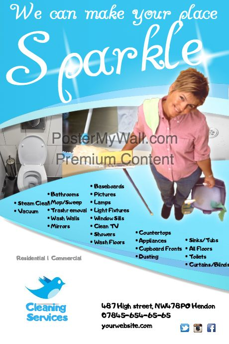 make your own flyers online free