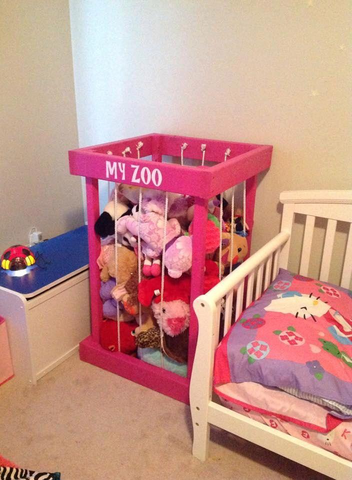 stuffed animal storage - stuffed animal zoo - stuffed animals - toy ...