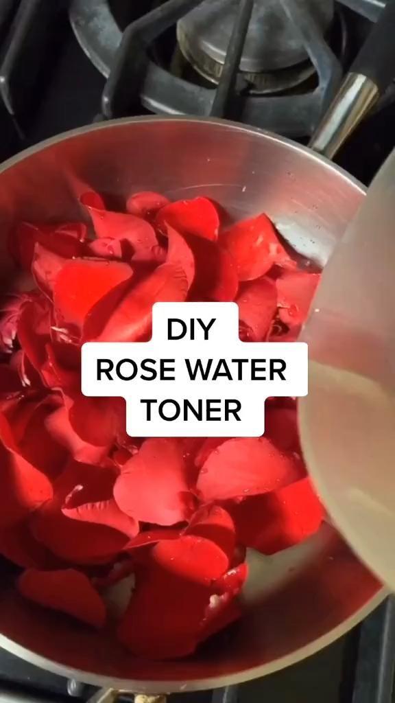 Rose water  #diy #diyproject #diyhow #diyskincare