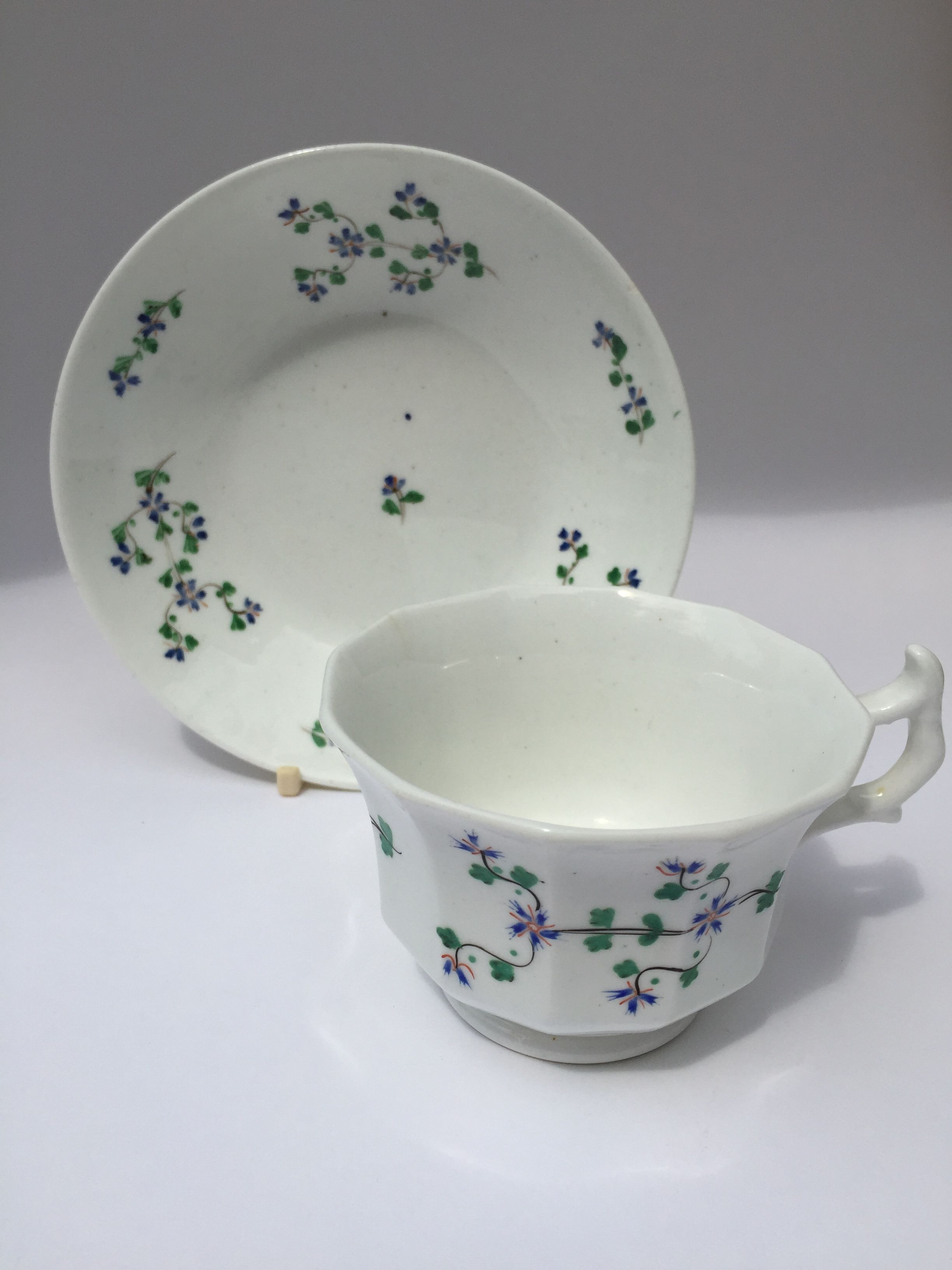 Staffordshire Sprigware Vintage China Staffordshire English China