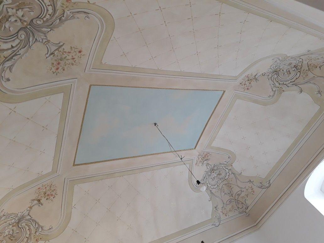 Soffitti A Volta Decorazioni : Decorazioni floreali sui soffitti a volta picture of la rosa dei