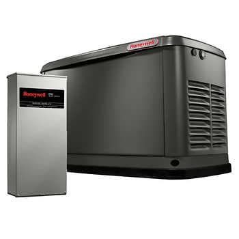 Honeywell 20kw Standby Generator With Transfer Switch In 2020 Standby Generators Generator House Transfer Switch