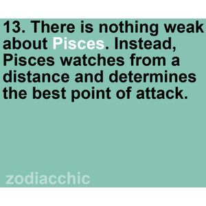 why are pisces so