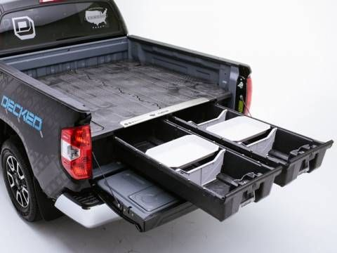 Decked Truck Bed Storage System Truck Bed Storage Decked Truck Bed Truck Bed