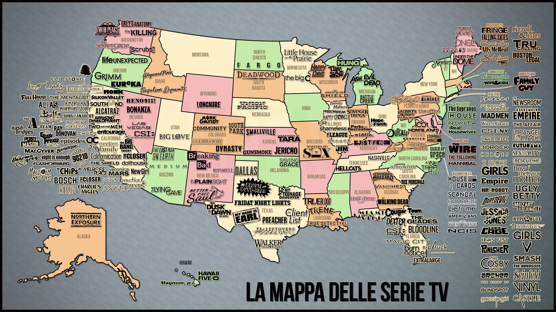 Explore Us Map Tv Shows And More