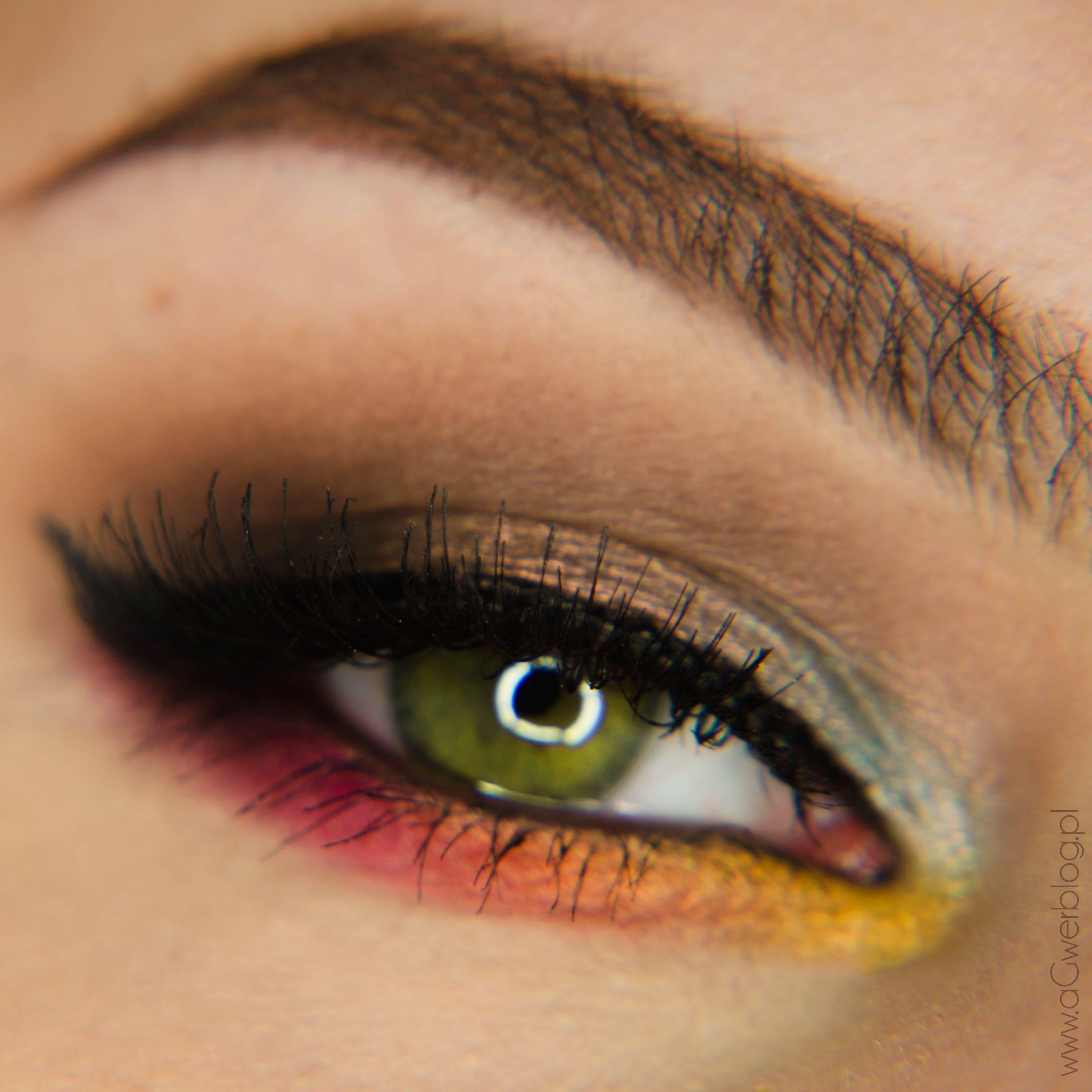 Makeup Geek Eyeshadows in Latte, Lemon Drop and Mocha