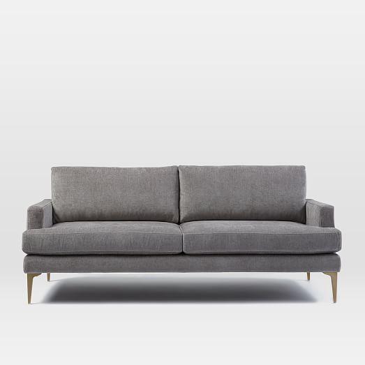 Andes Sofa (76.5u0026quot;). West ElmApartment ...