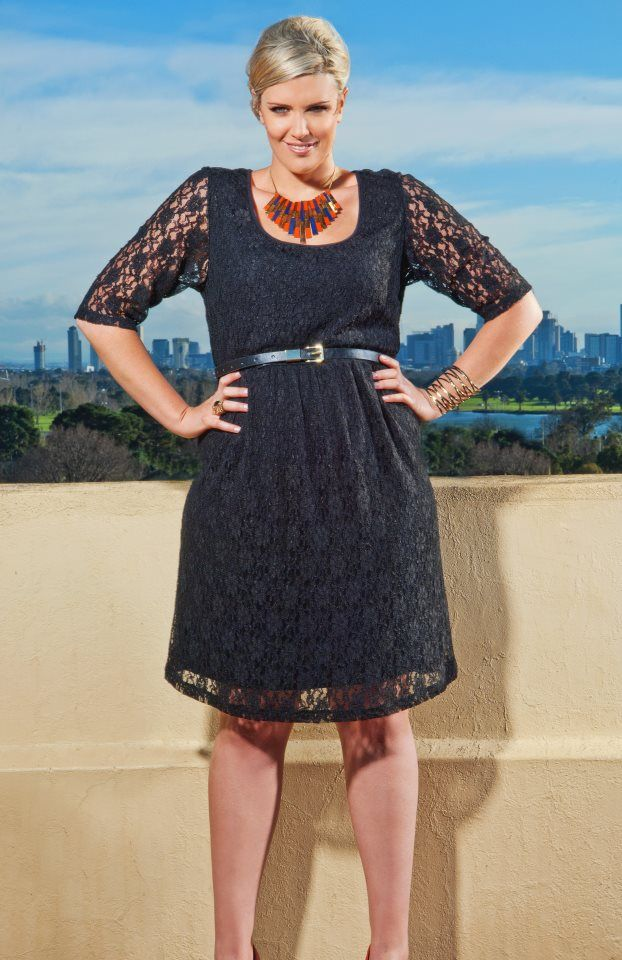 Lure Me With Your Lace Dress Available Myer Plus Size Fashion