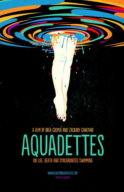 Aquadettes Poster Can Almost Make The Design Credit At Bottom Lovedust