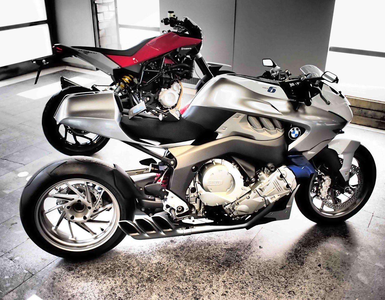 BMW Concept Cylinder Sports Husqvarna Moab Concept Bikes - 6 cylinder bmw