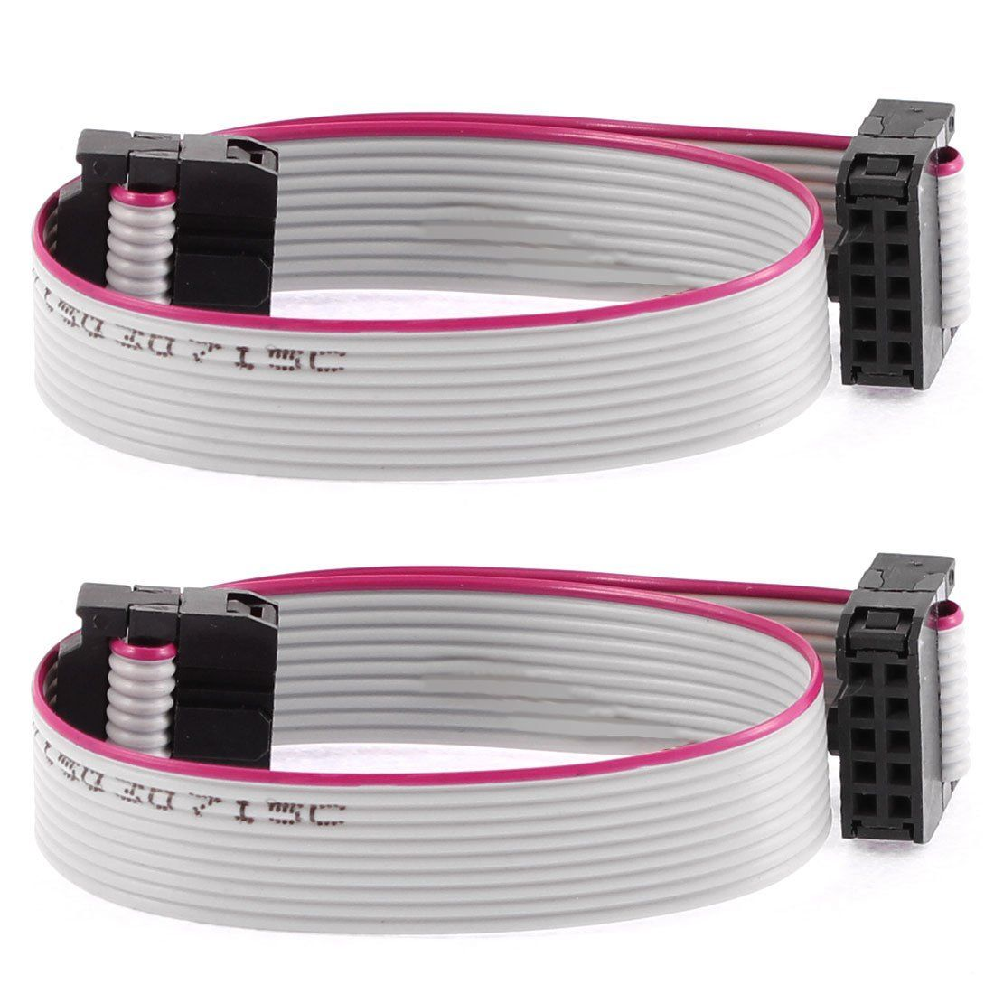 F F Idc Connector 10 Pins Flat Ribbon Cable 2 54mm Pitch 20cm 2pcs For Arduino Cool Things To Buy Pitch Computer Accessories