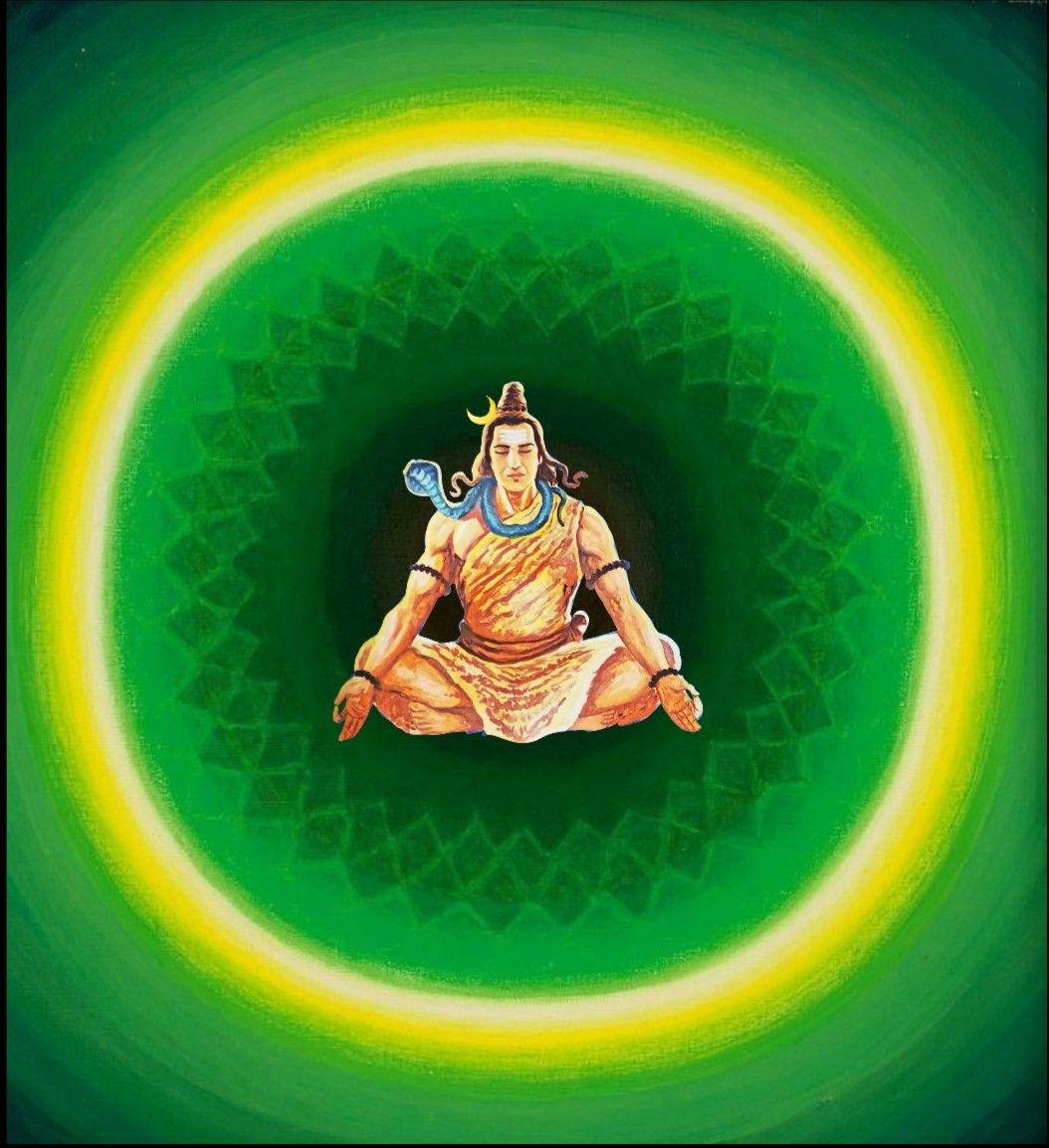 Lord Shiva In 3d In Creative Art Painting Shiva Kali Hindu Shiva Statue