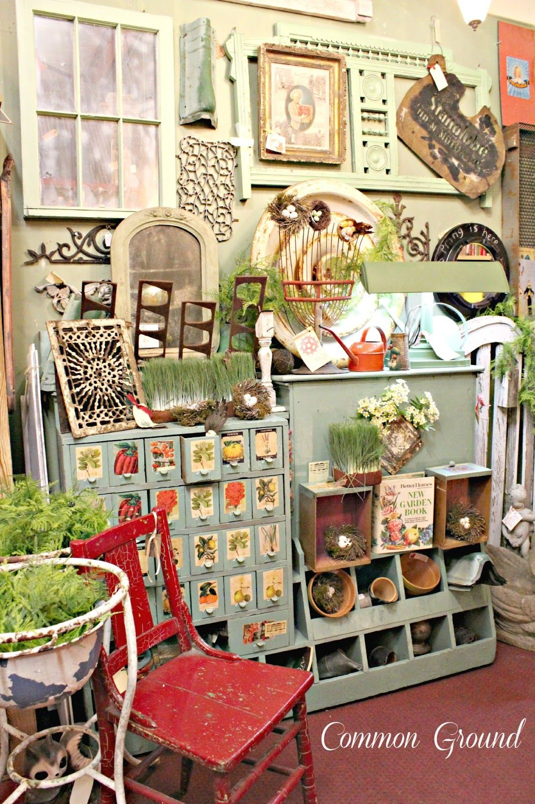 Pin by the cottage -well loved furnis on Shop/Display Ideas
