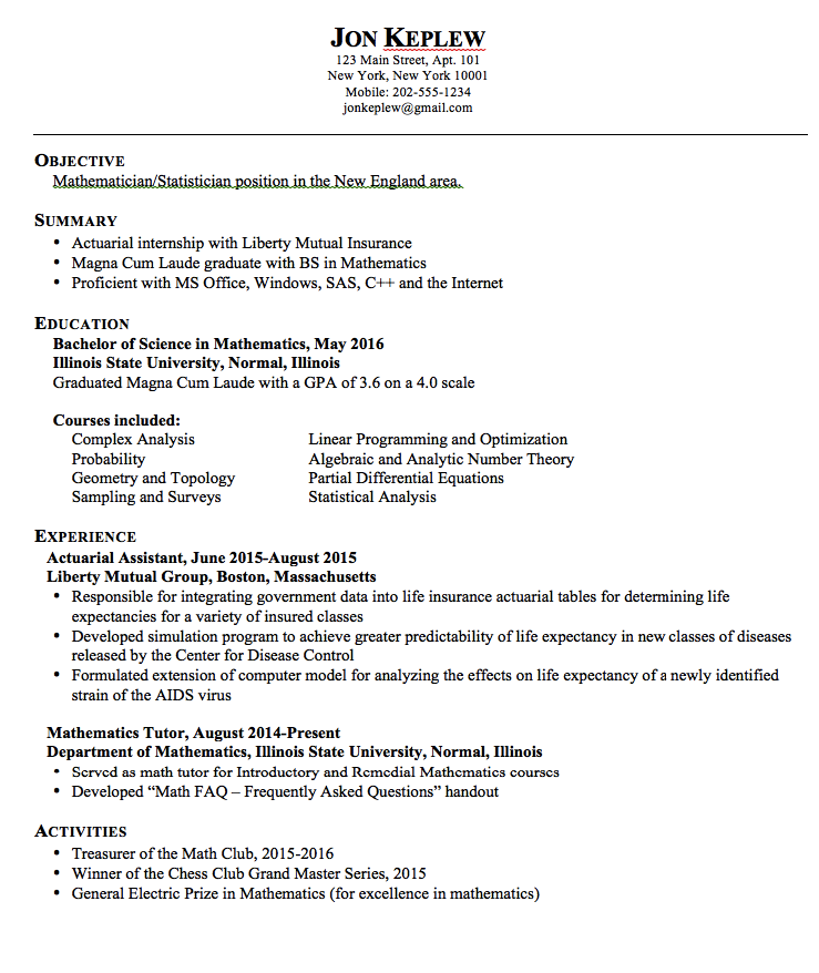 Statistician Resume Examples Examples Resume Cv Resume Examples Resume Resume Cv