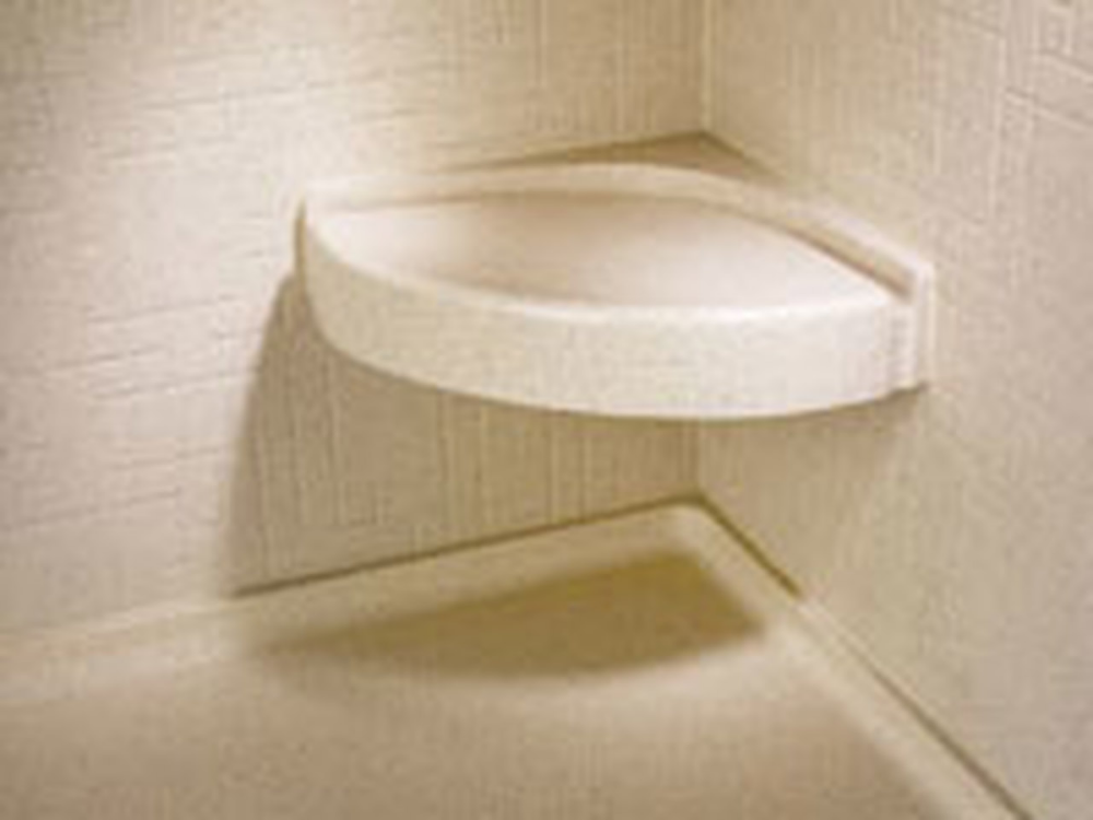 Swanstone Cs 1616 Corner Shower Seat Aggregate Color In 2020