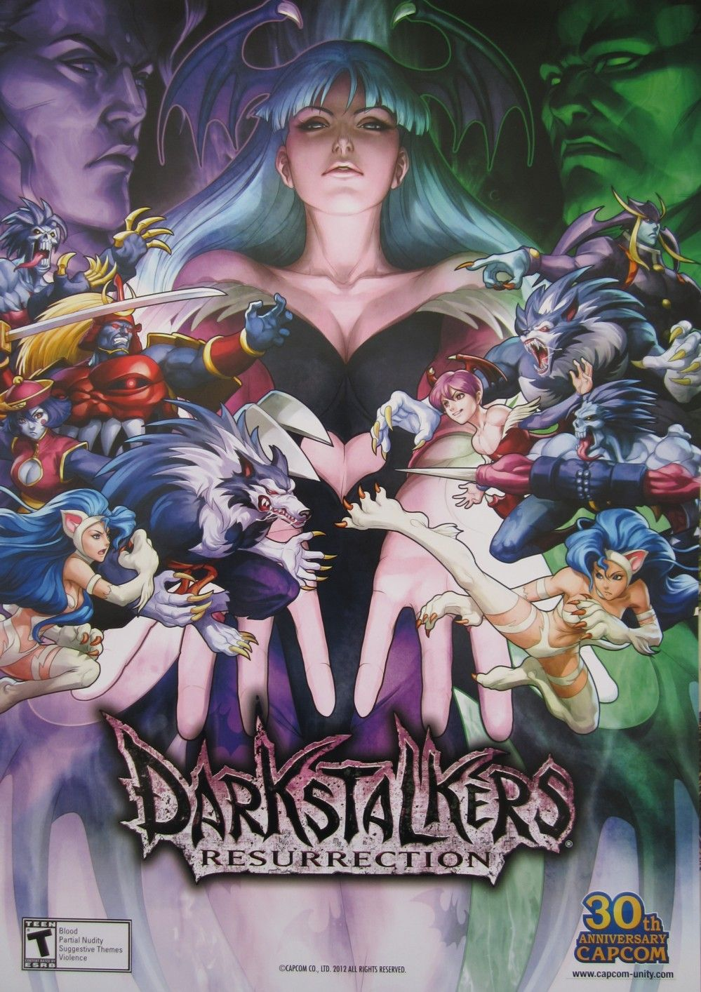 Darkstalkers Capcom Games
