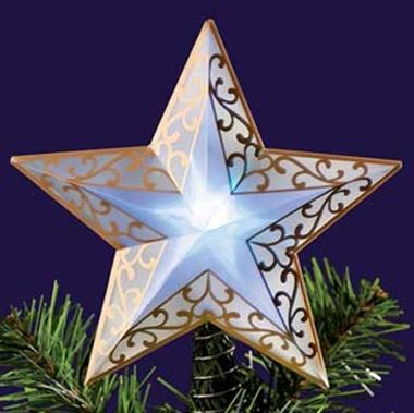 Kleeneze Shop £795 LED 4 Colour Changing Star Tree Topper Decorate