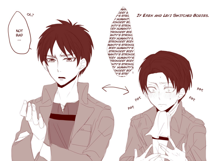 What would happen if Eren and Levi switch bodies  I bet Levi would