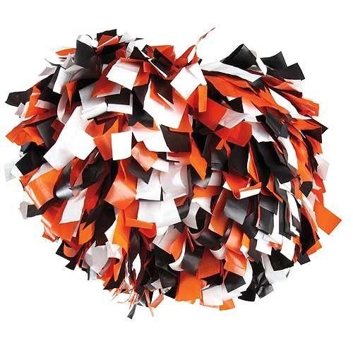 Orange And Black Cheer Gear Pizzazz Black Orange White 3 Color