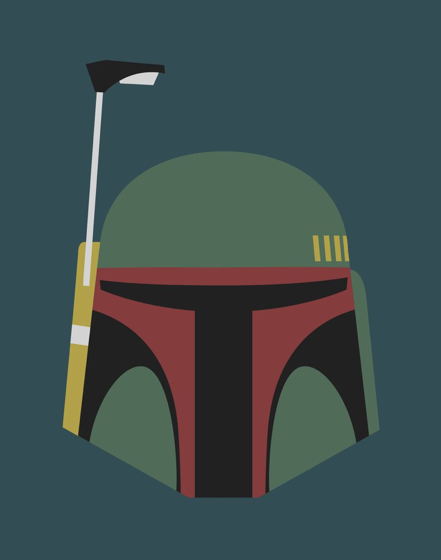 Boba Fett mask logo | Star Wars | Pinterest