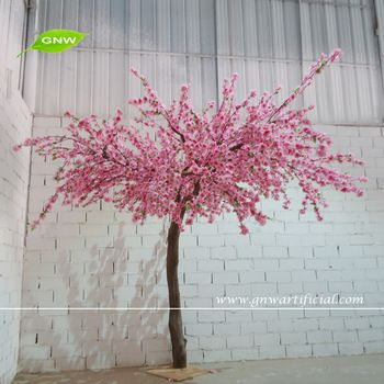 Gnw Bls1507017 7ft Wedding And Home Decoration Pink Artificial Cherry Indoor Blossom Tree Artificial Cherry Blossom Tree Pink Blossom Tree Cherry Blossom Tree