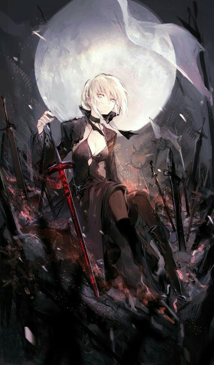 Pin oleh andalusiana zahira di fate manga anime dan anime japonais - Personnage manga fille ...