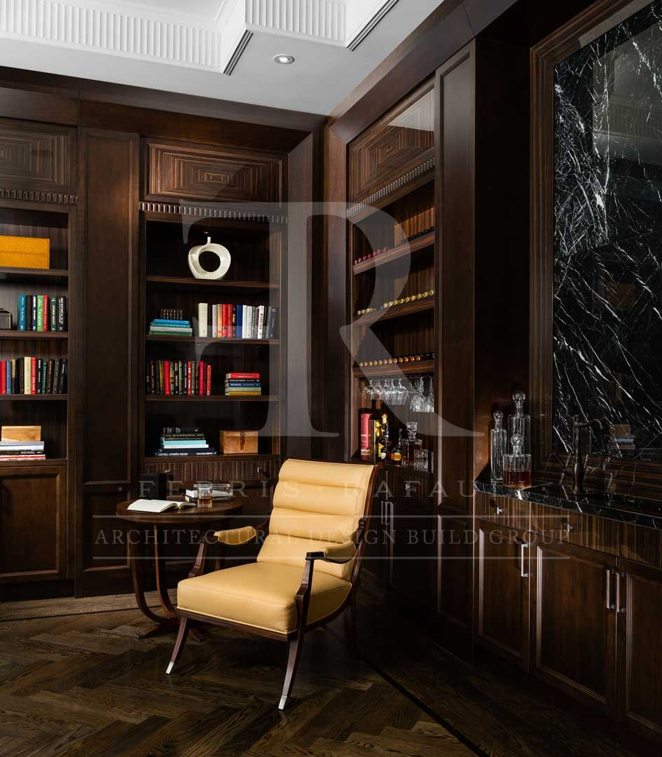 Classic Study Room Design: Architecture By Ferris Rafauli
