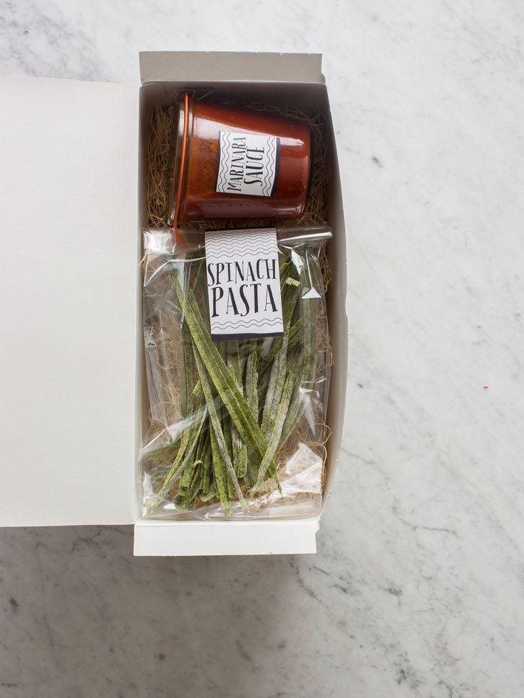 Pasta Gifts (homemade).