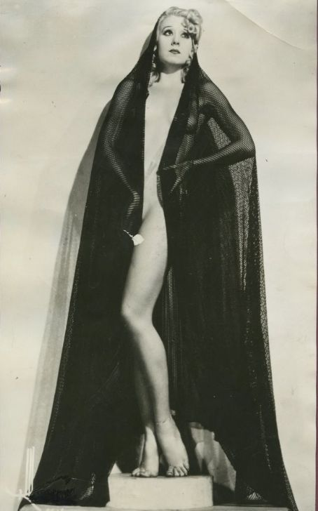 6ec6f53e34 Burlesque Past and Present  The sad story of Faith Bacon — Playful Promises  Blog