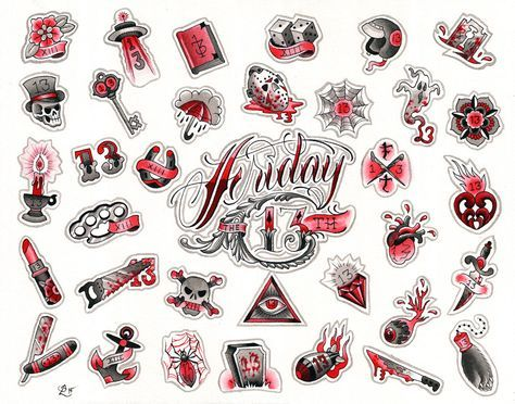Friday the 13th SPECIAL! - Red Hot Tattoo
