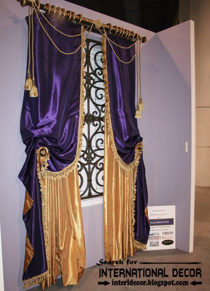 Modern Luxury Curtain Designs 2016 Ideas Colors Purple Curtains