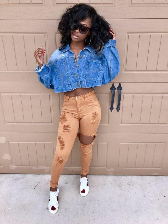 Fotos Tumblr De Negras Com Imagens Trajes Simples Roupas