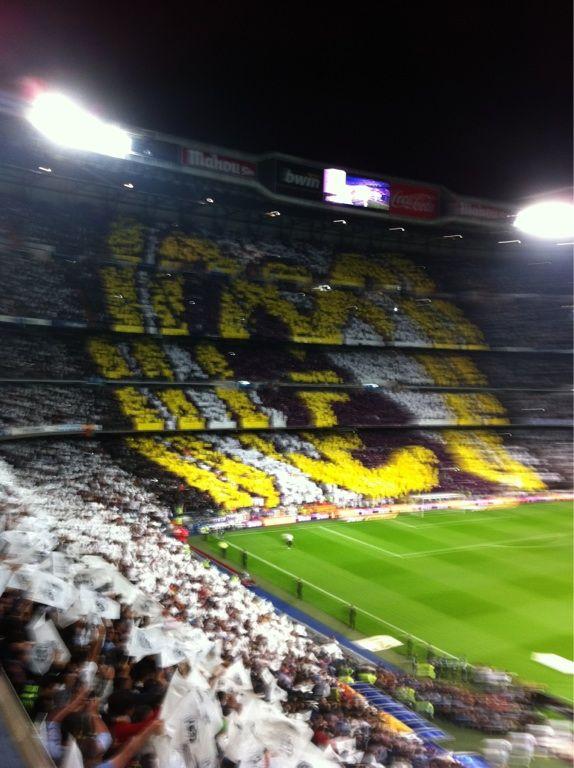 Santiago Bernabeu Real Madrid Madrid Ultras Football