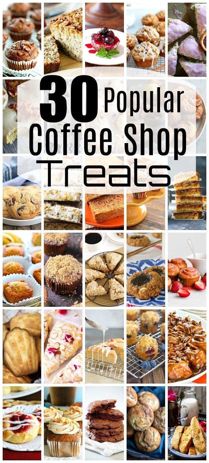 30 Popular Coffee Shop Treats You Can Make At Home