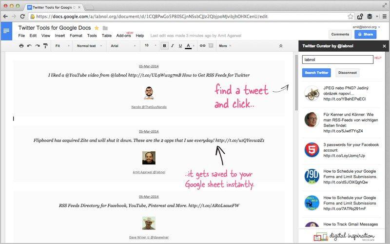 The Best Google Add Ons For Docs Sheets Slides And Google Forms Digital Inspiration Google Docs Google Add Ons Ads