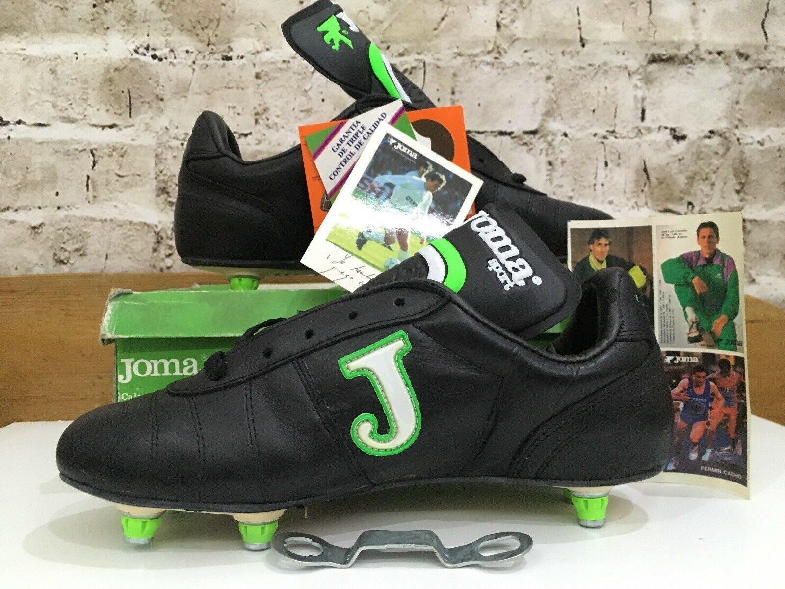 meet 33f67 78c74 Vintage 1980s Joma Sports football Boots Uk 7 Eu 40 Rare Soccer OG  Butragueno   eBay
