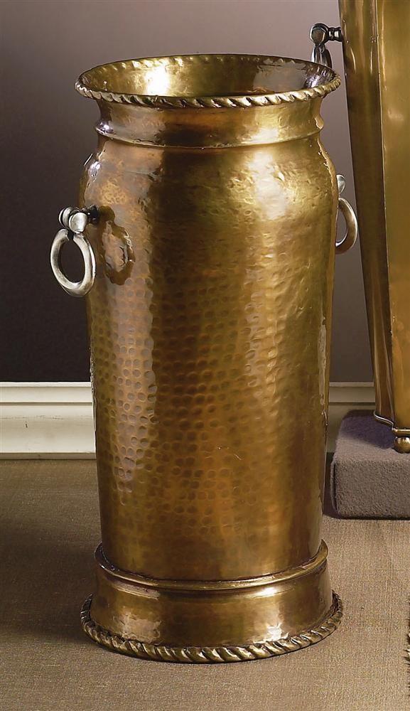 Hammered Umbrella Stand In Antique Brass Id 94183 Umbrella Stand Antique Brass Umbrella Holder