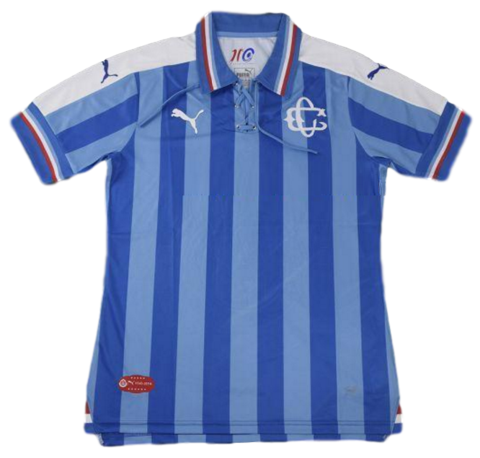 f52ce85da Chivas 2016 2017 110 Anniversary Blue Men Soccer Jersey - zorrojersey