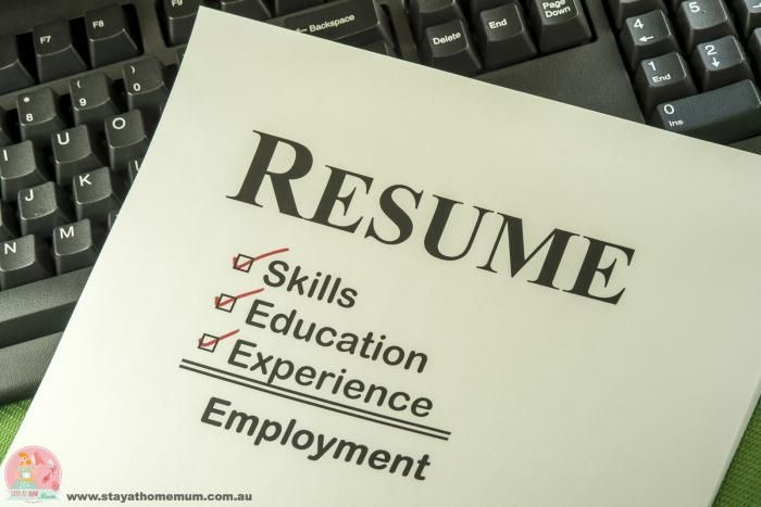 Things Not To Put On A Resume Ten Things Not To Put On Your Resume  Stay At Home Mum .