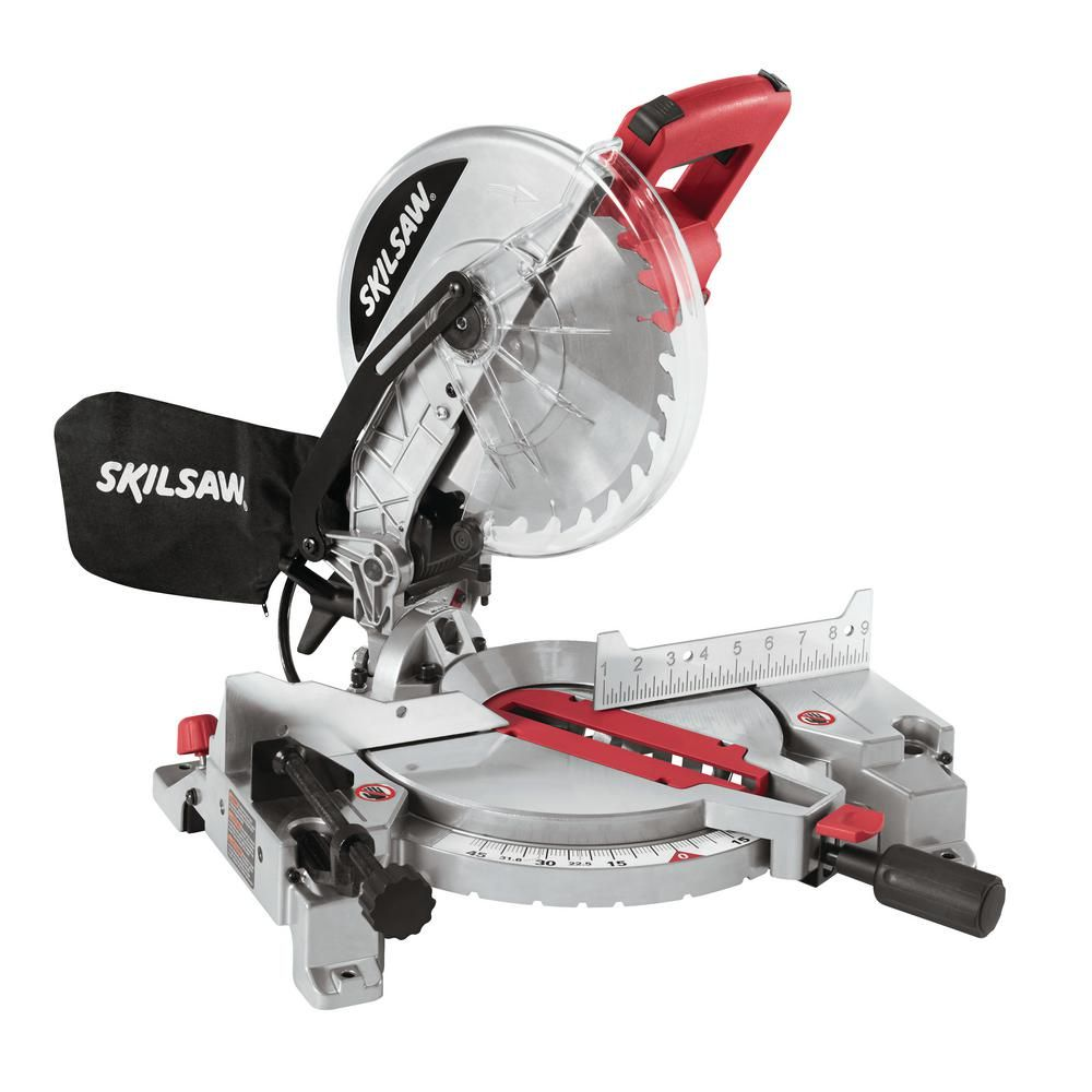 99 Skil 10 In 15 Amp Corded Miter Saw With Quick Mount 3316 04 The Home Depot Miter Saw Woodworking Tools Router Compound Mitre Saw