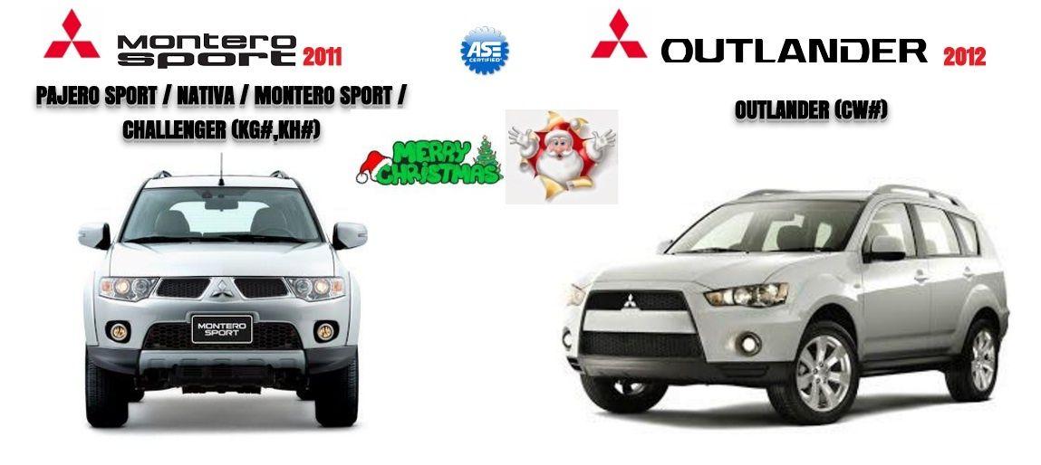 Mitsubishi Outlander 2012 & Montero Spoirt 2011