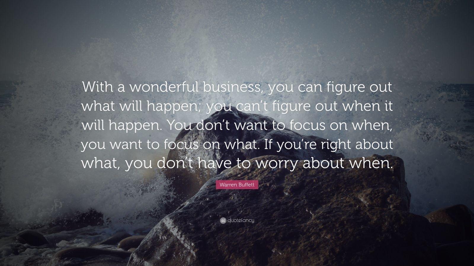 Inspirational quote number 38 from warren buffett