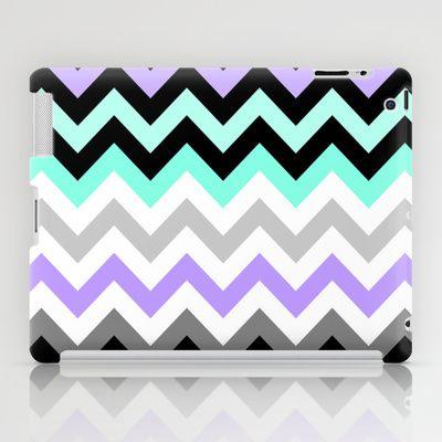 Chevron #14 iPad Case by Ornaart - $60.00