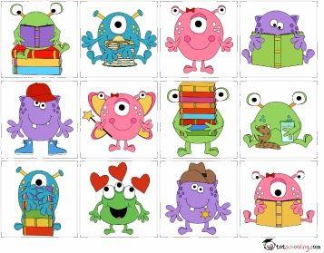 Totschooling - Toddler and Preschool Educational Printable Activities: Visual Discrimination