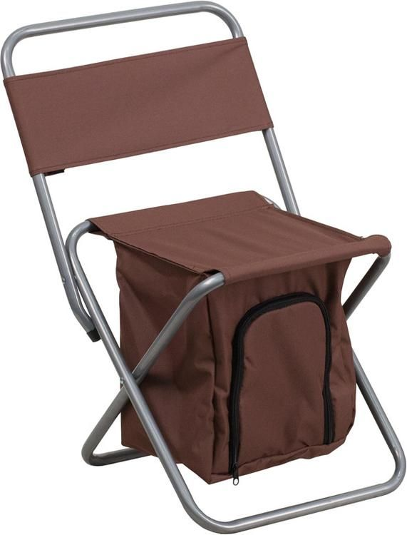 Kids Folding Camping Chair With Insulated Storage In Brown Kids - Buy flash furniture kids car chair hr 10 red gg at beyond stores