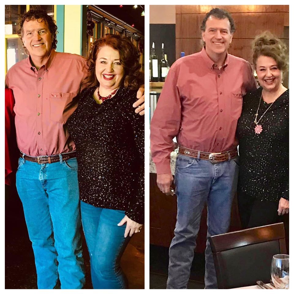 Quot Trim Healthy Couple 💖 The Left Was December 2018 And The