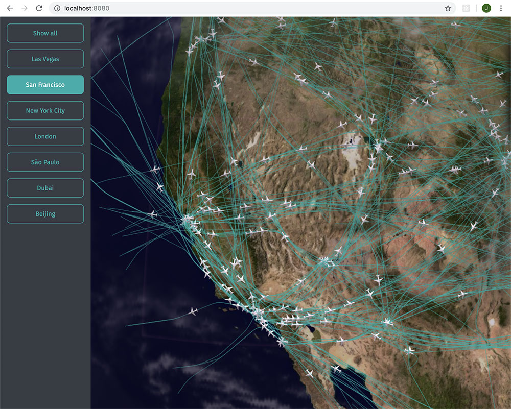 How to Transform an Air Traffic API to GeoJSON to Render
